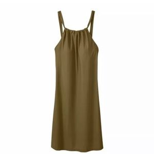 Athleta women's Kokomo dress olive green small